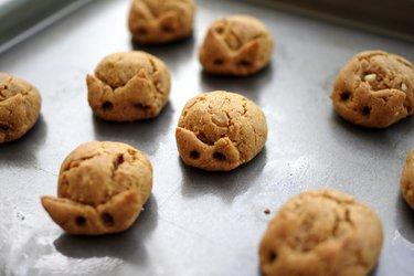 Trzyskładnikowe ciasteczka z masłem orzechowym (bezglutenowe)