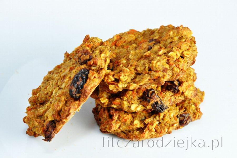 Fit ciasteczka lub chleb marchewkowo-jabłkowy (bez mąki, cukru i tłuszczu)