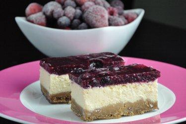 Fit sernik jogurtowy (bezglutenowy, bezcukrowy)