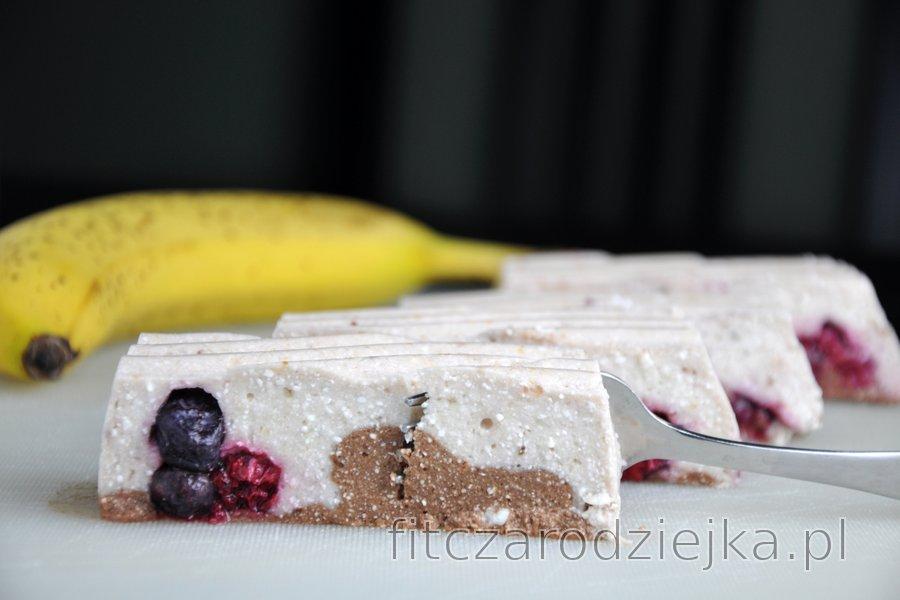 Deser bananowo-twarogowy bez pieczenia (bezglutenowy)