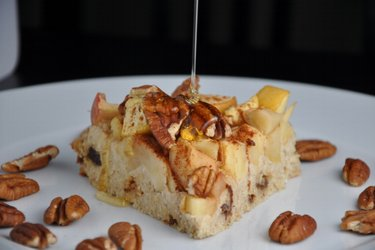 Ciasto jabłkowo-owsiane (bezmączne i bezglutenowe)