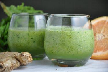 Zielone smoothie z witaminą C