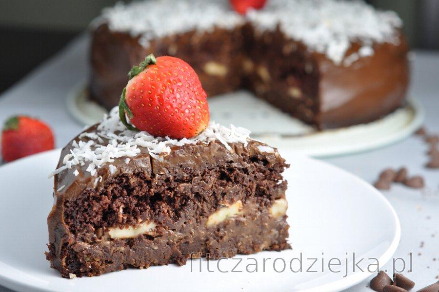 """""""Chocoholic"""" - zdrowe ciasto czekoladowe"""