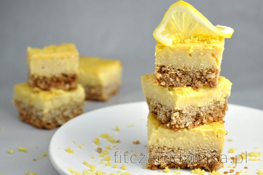 Słodko-kwaśny deser cytrynowy bez mąki