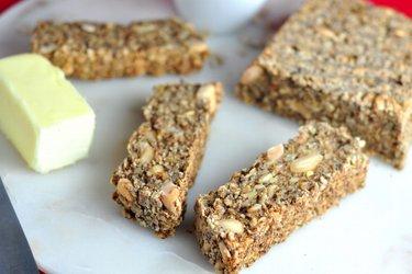 Zdrowy chleb owsiany (bez mąki)