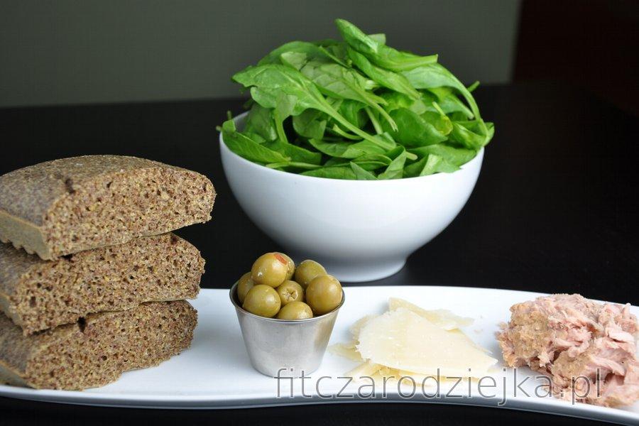 Bezmączny chleb z siemieniem lnianym