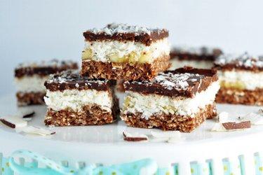 Kokosowo-czekoladowy deser na zimno