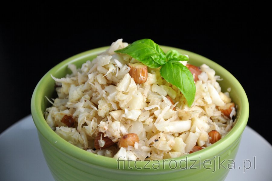 "Kokosowo-kalafiorowe ""risotto"" bez ryżu"