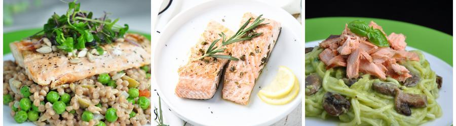Przepisy na zdrowe sałatki z łososiem