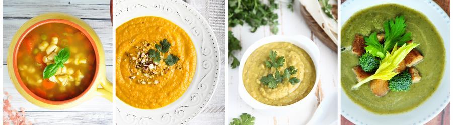 Przepisy na zupy niskokaloryczne i utratę wagi