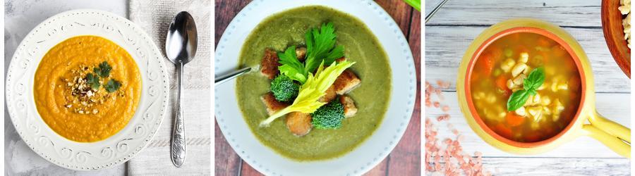 Przepisy na zupy low carb
