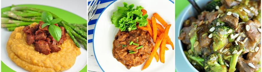 Wysoko-proteinowe przepisy z wołowiną