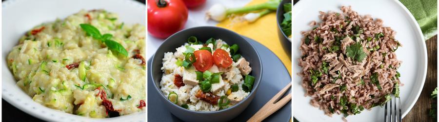 Wysokobiałkowe przepisy z ryżem