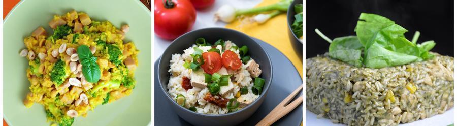 Zdrowe przepisy wegańskie z ryżem