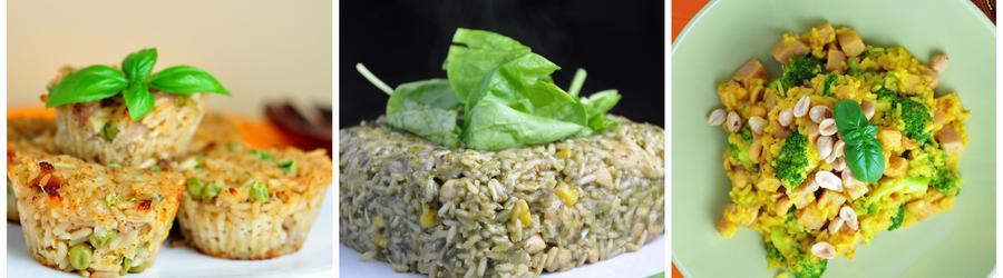 Niskowęglowodanowe przepisy z ryżem