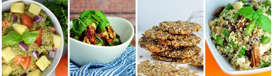 Zdrowe przepisy wegańskie z komosą ryżową