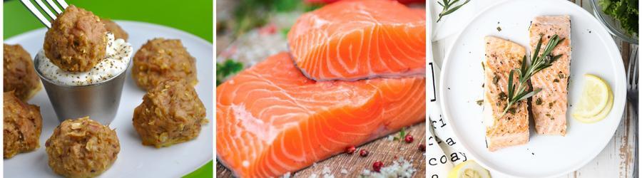 Przepisy low carb z łososiem