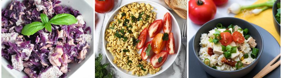 Niskokaloryczne przepisy z tofu na utratę wagi