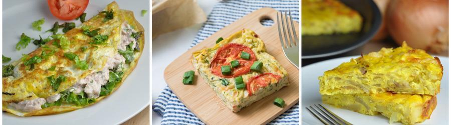 Niskokaloryczne przepisy z jajami na utratę wagi