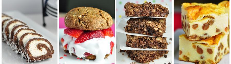 Przepisy na zdrowe desery i ciasta