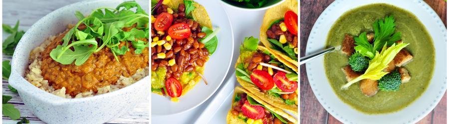 Zdrowe przepisy wegańskie z warzywami