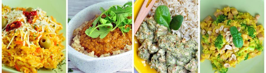 Zdrowe przepisy z ryżem