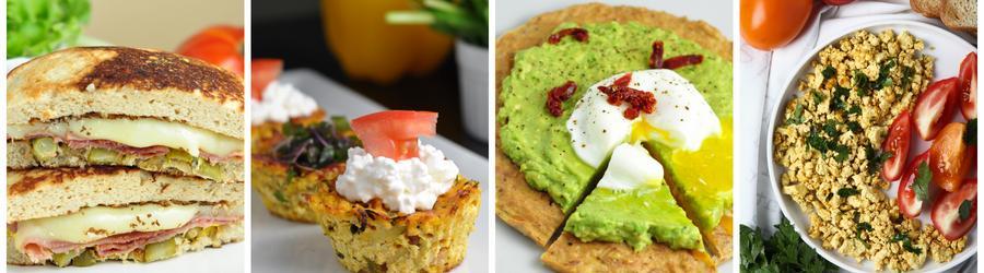 Przepisy na śniadania o niskiej zawartości węglowodanów