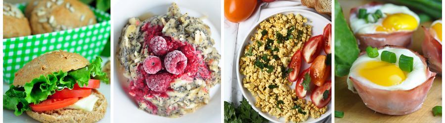 Zdrowe przepisy na śniadania bez nabiału