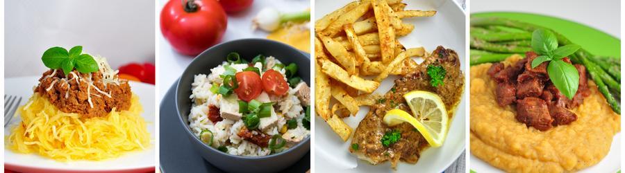 Zdrowe przepisy bezglutenowe na lunch i obiad