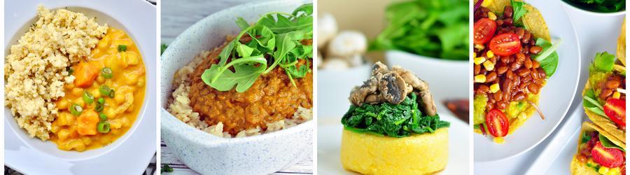 Zdrowe przepisy wegańskie na obiad i lunch