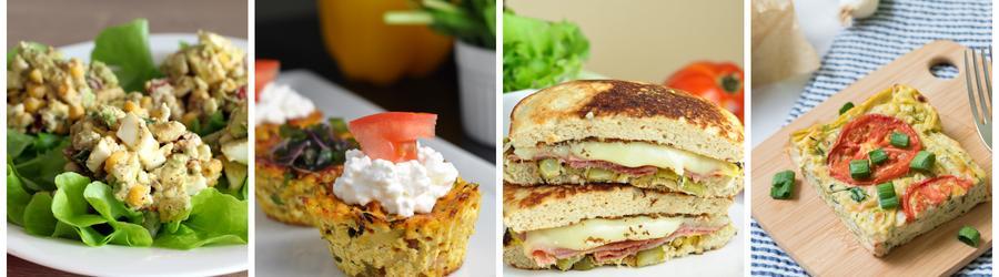 Zdrowe przepisy na śniadania wysokobiałkowe