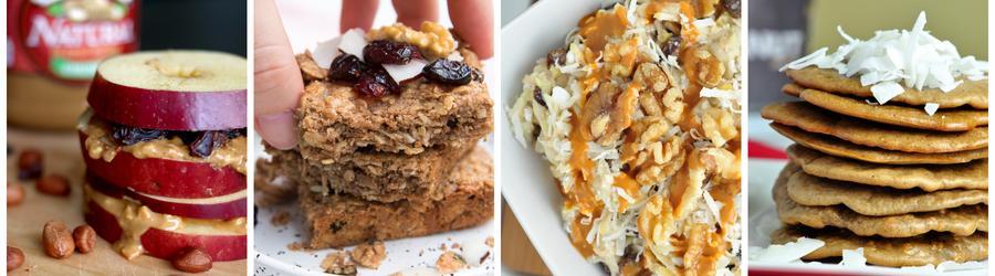 Zdrowe przepisy na śniadanie z masłem orzechowym