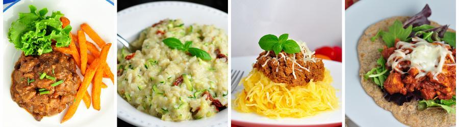 Przepisy na lunch i obiad bez jajek