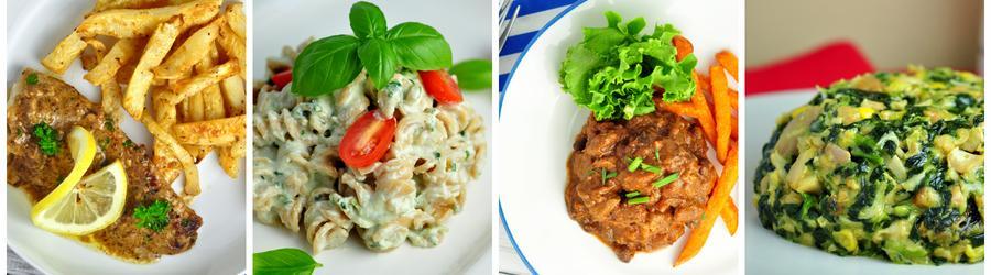 Wysokobiałkowe przepisy na obiad i lunch
