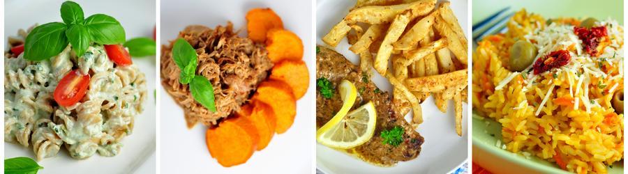 Niskokaloryczne przepisy na obiad/lunch i utratę wagi
