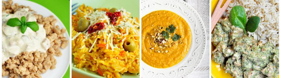 Nisko-tłuszczowe przepisy na obiad i lunch