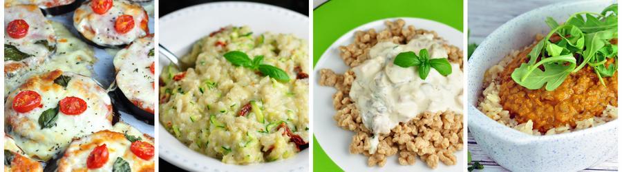 Zdrowe przepisy wegetariańskie na lunch i obiad