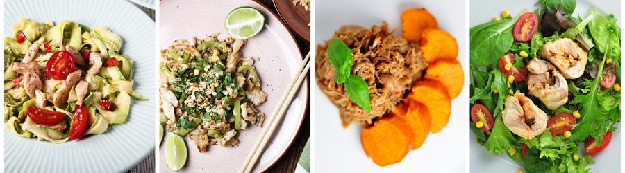 Zdrowe przepisy z kurczakiem na lunch i obiad