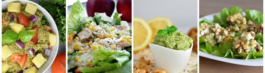 Zdrowe przepisy na sałatki z awokado
